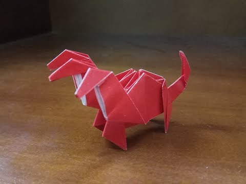 Origami Easy Hydra - How To Make a Paper Easy Hydra