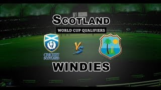 LIVE Windies vs Scotland Score Update - SCO v WI Video