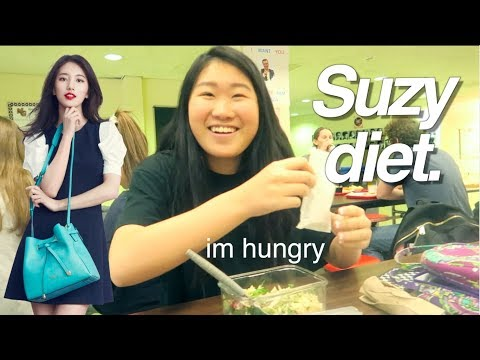 I TRIED THE SUZY DIET...AS A FOODIE// KPOP IDOL DIET