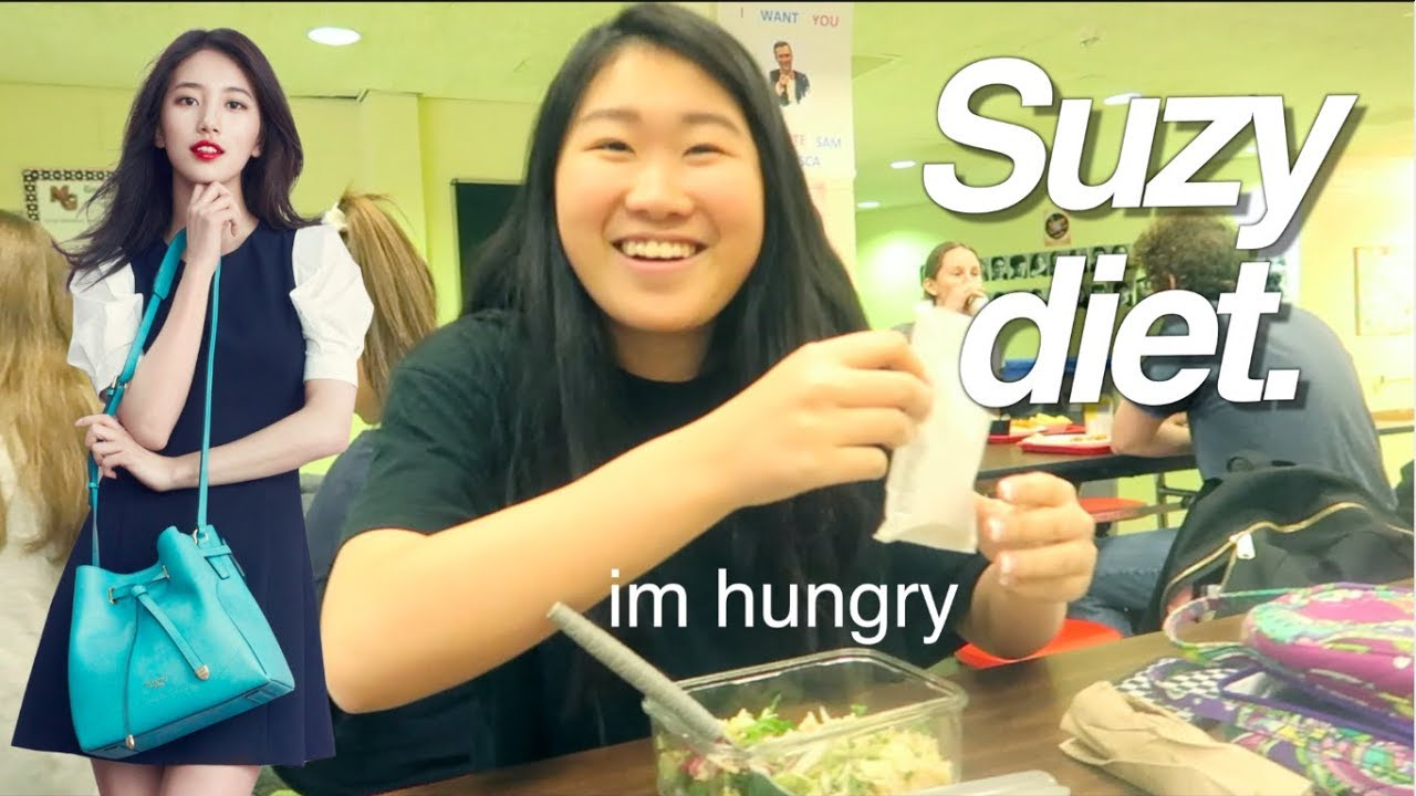 I TRIED THE SUZY DIET...AS A FOODIE// KPOP IDOL DIET - YouTube