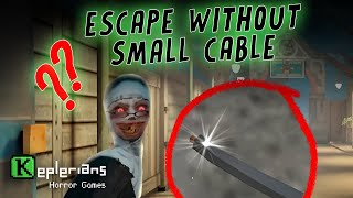 EVIL NUN 1   ESCAPE WITHOUT SMALL CABLE IN HARD MODE   GAMEPLAY CHALLENGE