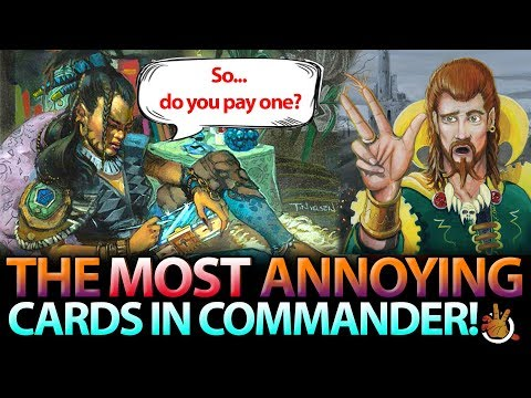 Most Annoying Cards in EDH | The Command Zone #180 | Magic: the Gathering Commander/EDH Podcast