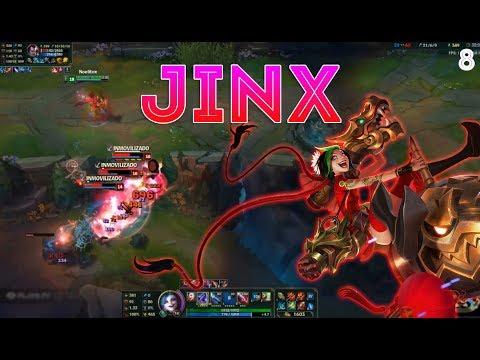 Jinx Montage 8 - Jinx Mechanics - League of Legends