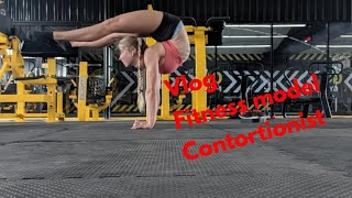 Fitness model contortion handbalancer Vlog 1