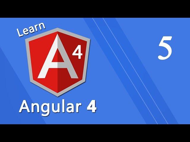 Angular 4 Tutorial - Data Binding #5