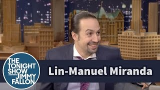 Lin-Manuel Miranda Freestyled Jimmy