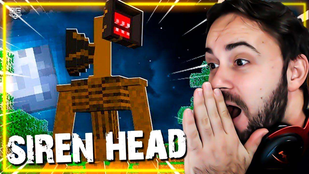 DESAFIO DO SIREN HEAD NO MINECRAFT