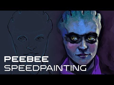 Peebee Speed Painting