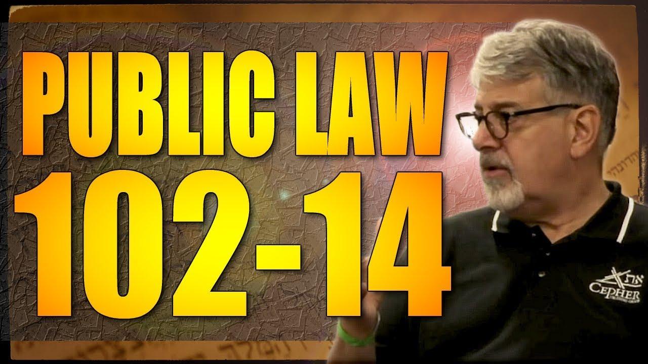 Public law 102 14
