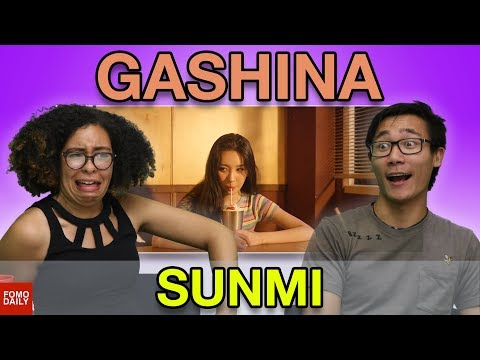 "SUNMI ""Gashina"" • Fomo Daily Reacts"