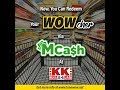 TONE WOW … WOWcher Redemption @ KK Super Mart (English)