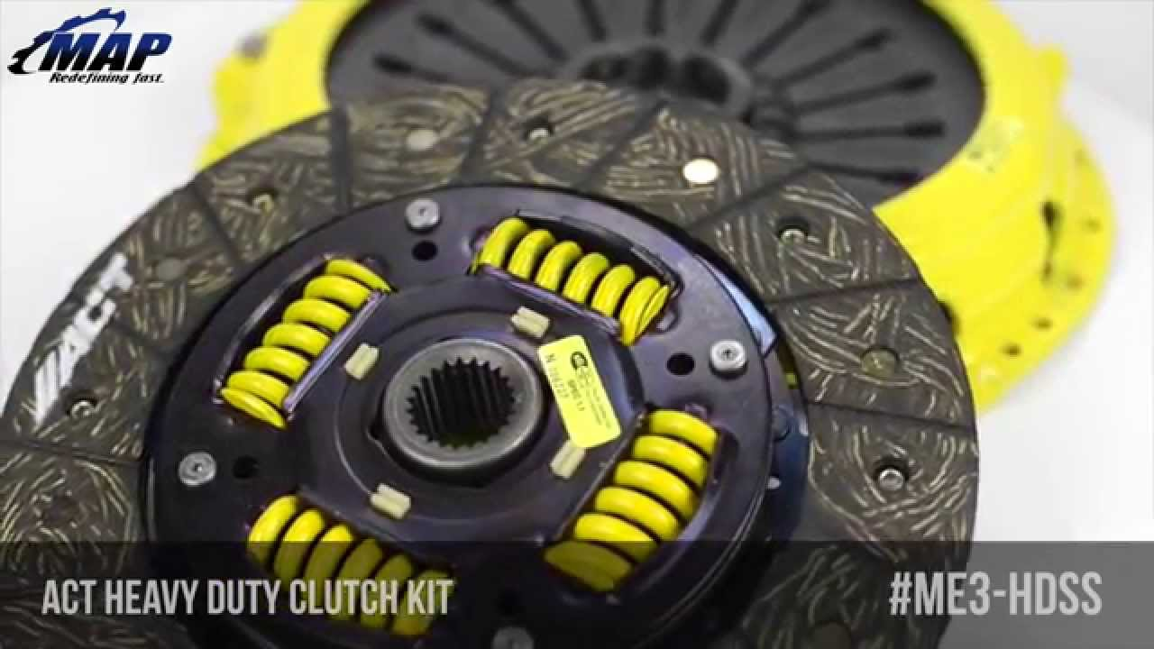Act Heavy Duty Pressure Plate Performance Disc Clutch Kit Youtube