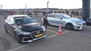 BMW M6 Gran Coupe vs Audi RS3 Sportback
