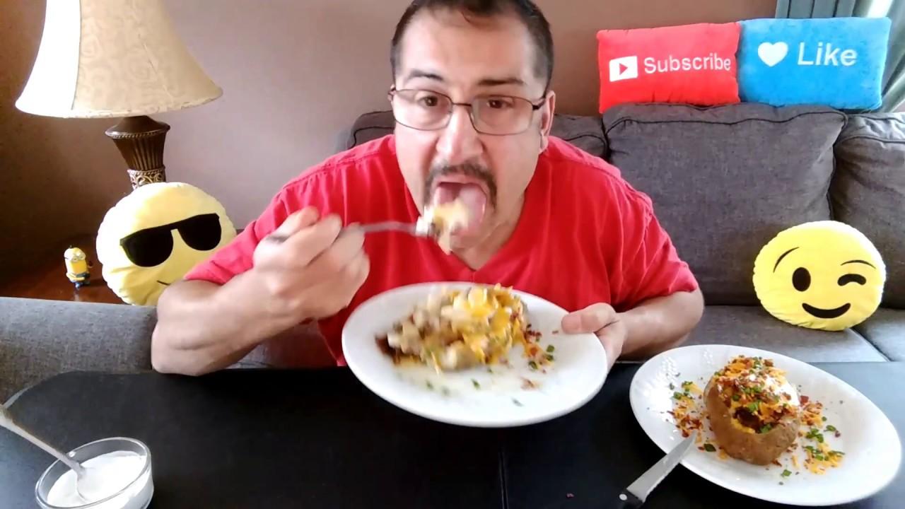 Baked Potato•Mukbang/Eating Show