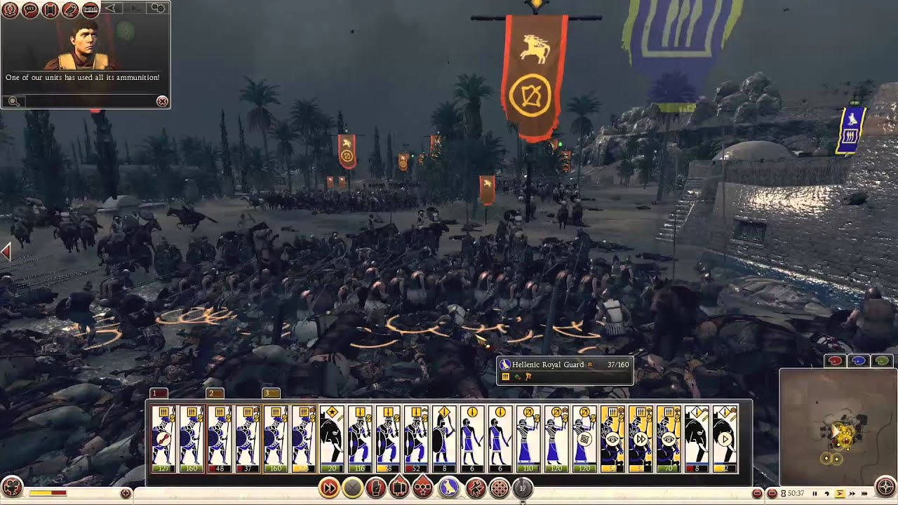egypt campaign rome total war 2