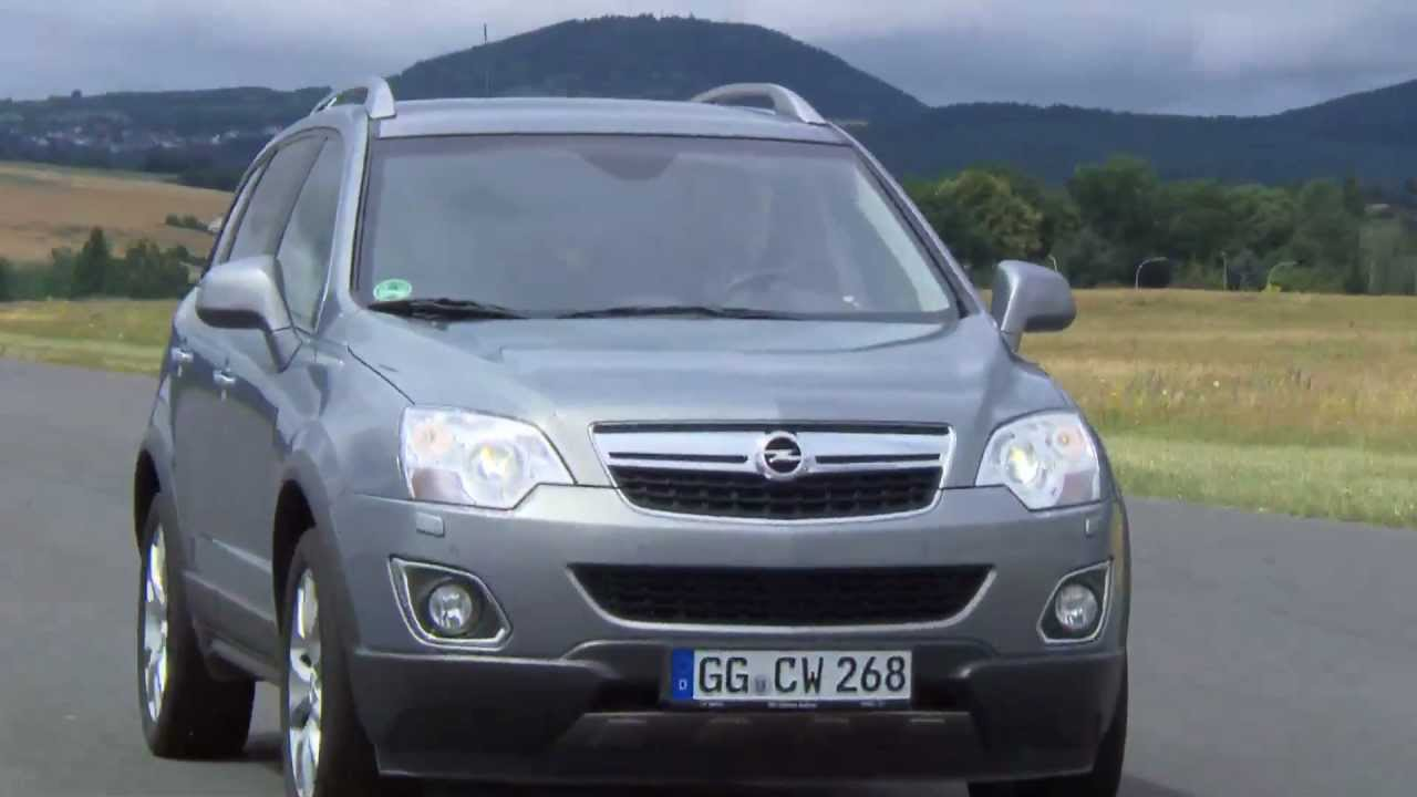 einzeltest opel antara - youtube