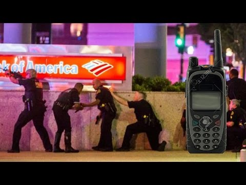 Dallas Terror Attack Police Radio - 7/7/16