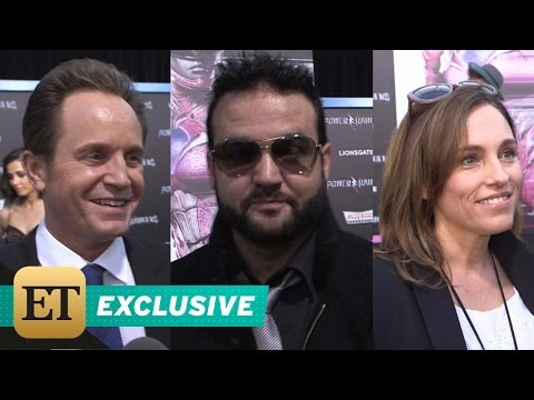 EXCLUSIVE: Original 'Power Rangers' Cast Gush Over 'Incredible' Reunion on Red Carpet