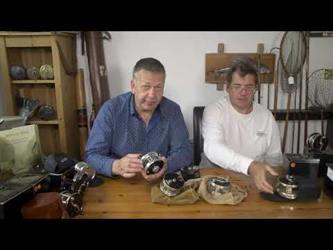 Bogdan Fishing Reels And And Other USA Built Reels, With John Stephenson And Tim Pilcher
