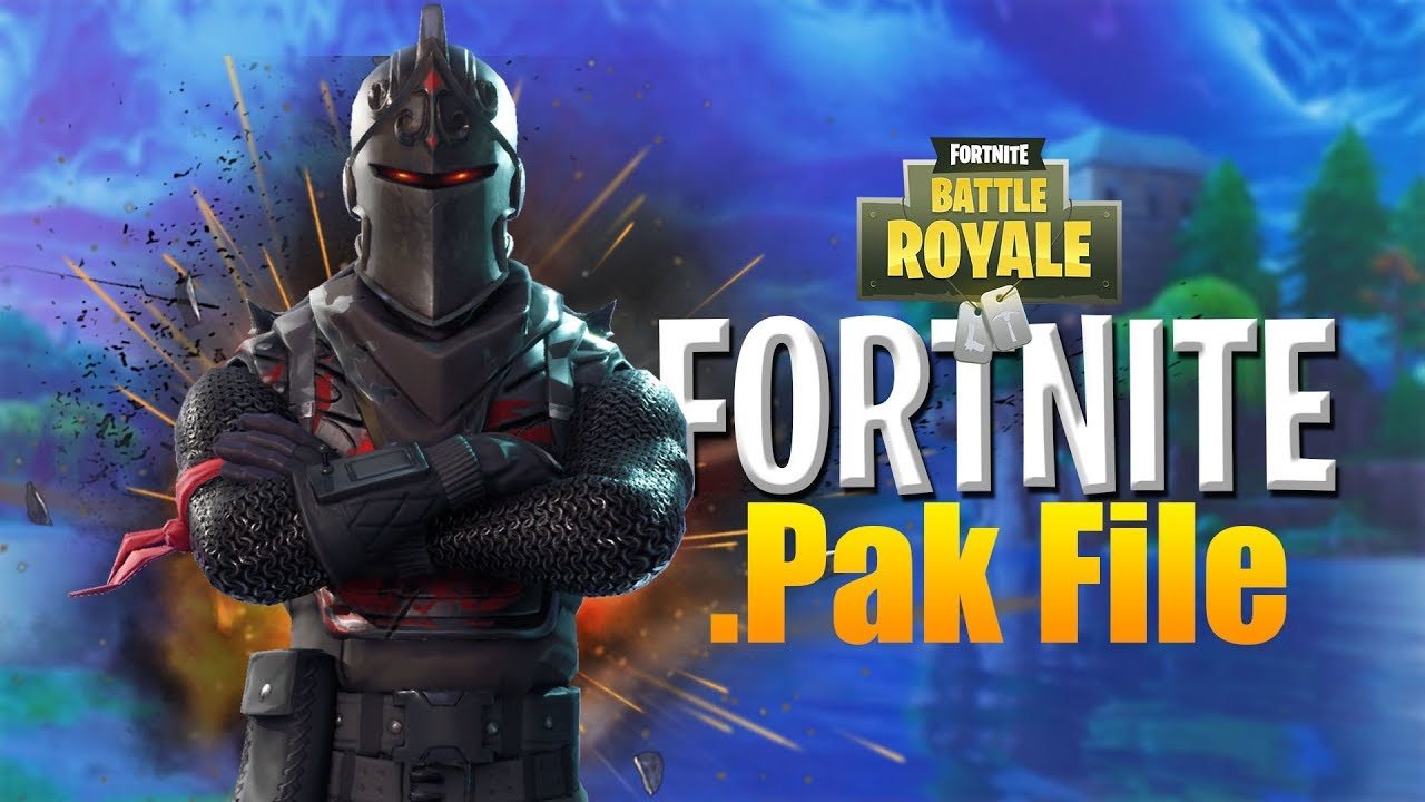 HOW TO CHANGE  Pak files in FORTNITE