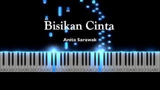 Bisikan Cinta - Anita Sarawak   Piano Tutorial by Andre Panggabean