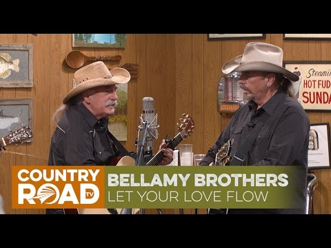 "Bellamy Brothers sing ""Let Your Love Flow"""