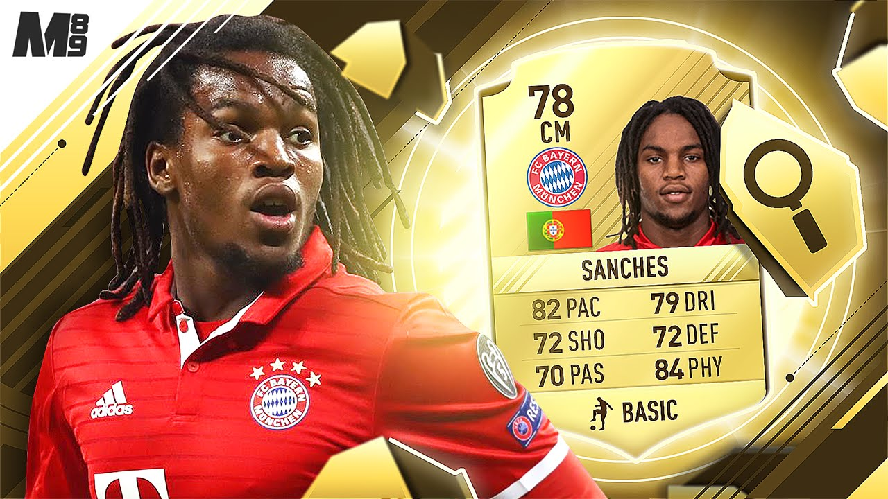 renato sanches fifa 17