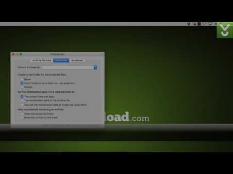 The Unarchiver - Unarchive ZIP, TAR, SIT, RAR, And 7-Zip Files - Download Video Previews