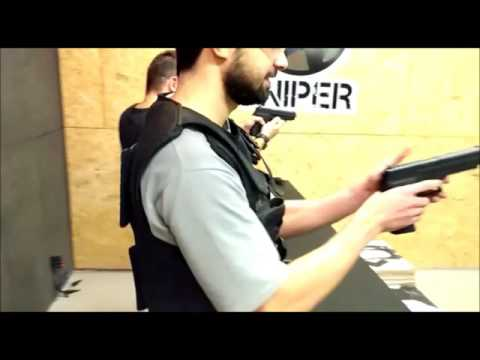 Sniper Fortaleza AirSoft - Duelo com Pistolas