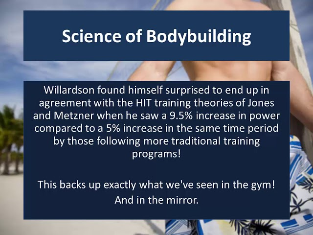 HIT 4 of 9 - Science of Body building