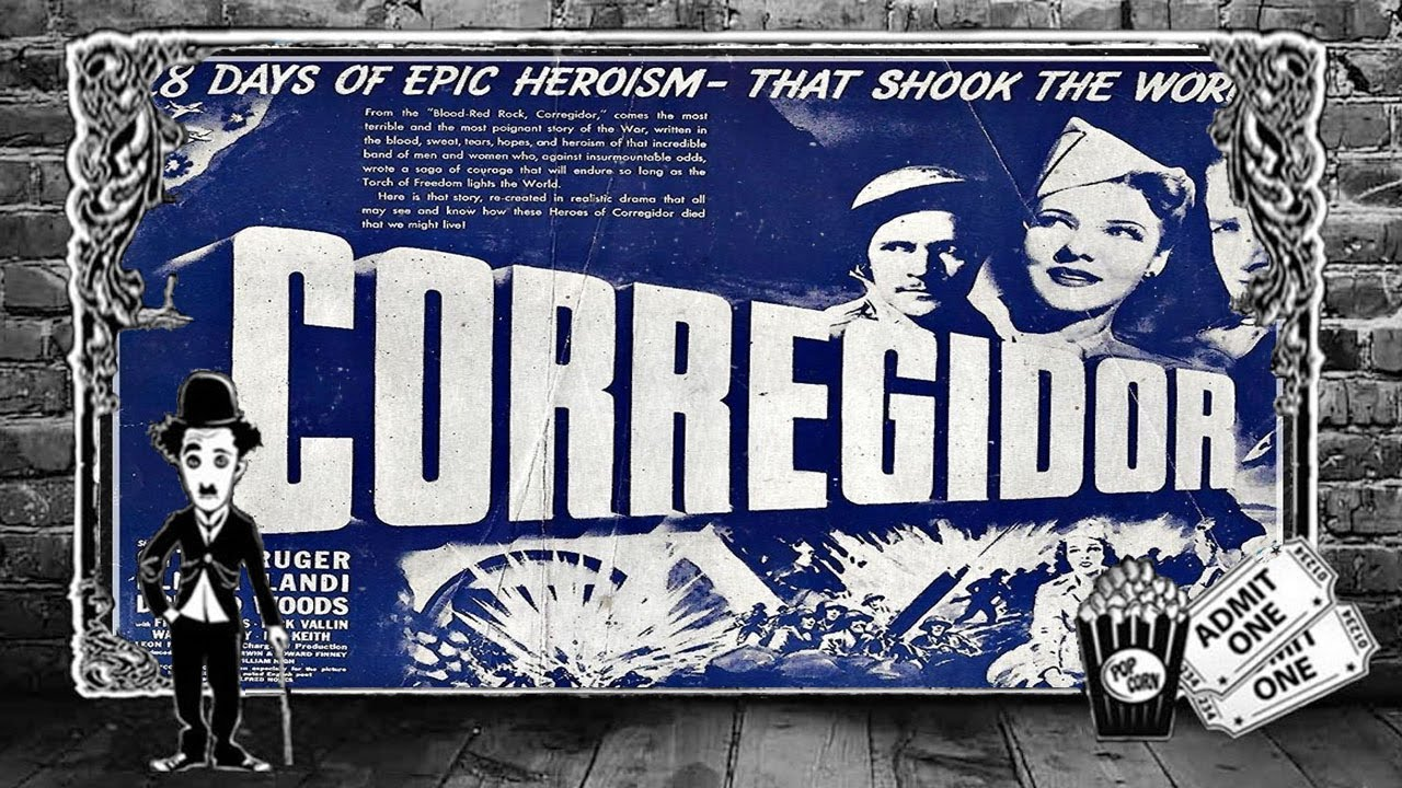 Classic WW2 War Movie : Corregidor (1943) ( Full Movie )