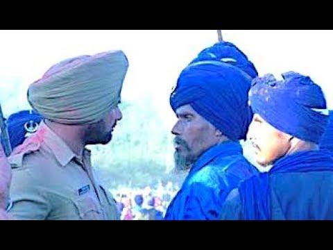 KHARKU vs POLICE - Amarjit Sabhra Ft  Kam LohgaRh