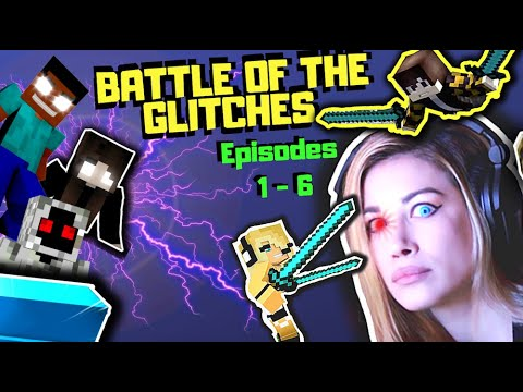 BATTLE OF THE GLITCHES Ep. 1 - 6 | PSYCHO GiRL Reaction to MC JAMS