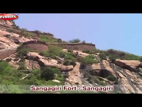 Tamilnadu Tourism In English | Mettur Dam | Sangagiri Fort |