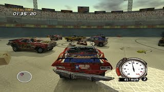 FlatOut PS2 Gameplay HD (PCSX2)
