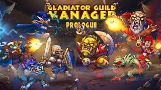 ОРК БИТЬ, МАГ ВЗРЫВАТЬ!   Обзор игр - Первый взгляд   Gladiator Guild Manager: Prologue