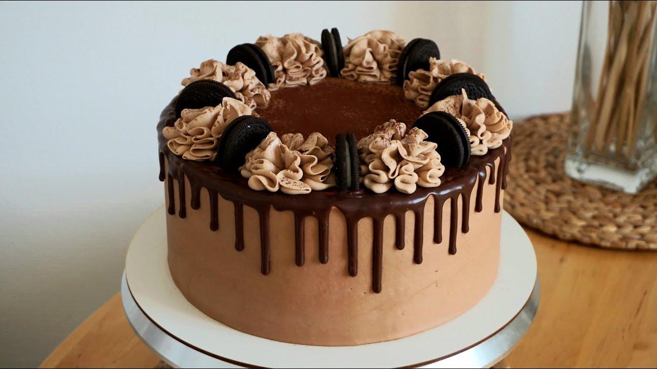 МЕГА Шоколадный Торт.Оформление.Красивые Шоколадные Подтёки. НасадкаСфера.Ганаш.Cake CHOCOLAT 🍫