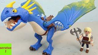 Playmobil Dragons Astrid und Sturmpfeil 9247 auspacken seratus1