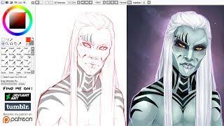Paint Tool Sai | SPEEDPAINT | Wraith FC | Stargate Atlantis