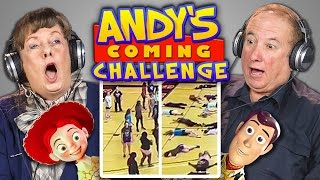 ELDERS REACT TO ANDY'S COMING CHALLENGE (#AndysComing)