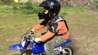 How to start,stop, and turn off your Yamaha pw50