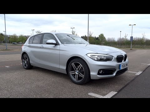 2016 BMW 118i Sport Line (5-door) Start-Up and Full Vehicle Tour
