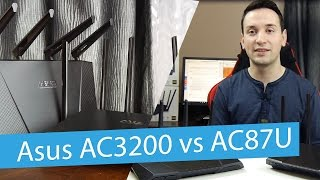 Asus RT-AC87U vs RT-AC3200 Wireless Routers