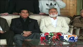 Opposition's rehbar committee ki press conference in islamabad