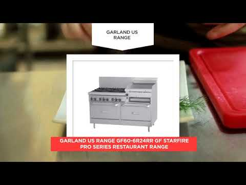 Garland US Range GF60 6R24RR GF Starfire Pro Series Restaurant Range