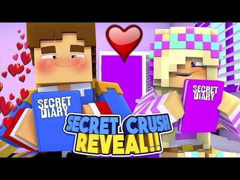 Minecraft SECRET CRUSH REVEAL    DONNY TELLS LEAH WHICH LITTLE CLUB GIRL HE LOVES!!