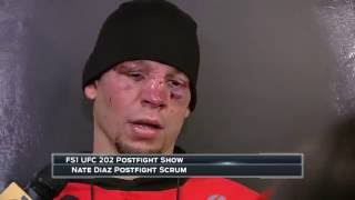 Nate Diaz: I thought I won the fight...it's all good, I got paid - UFC 202