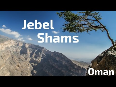 Jebel Shams Oman - the Arabian Grand Canyon