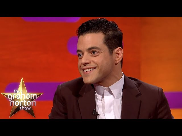 Rami Malek On How He Became Freddie Mercury for Bohemian Rhapsody | The Graham Norton Show