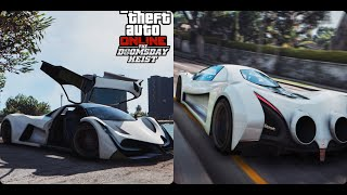 GTA 5 ONLINE DEVESTE Car Review MOVIE, PERFORMANCE & CUSTOMISATION